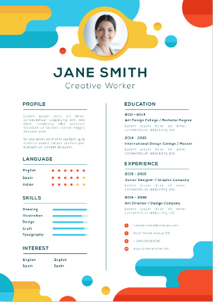 i'm dedicated professional writer who creates the attractive Resume.