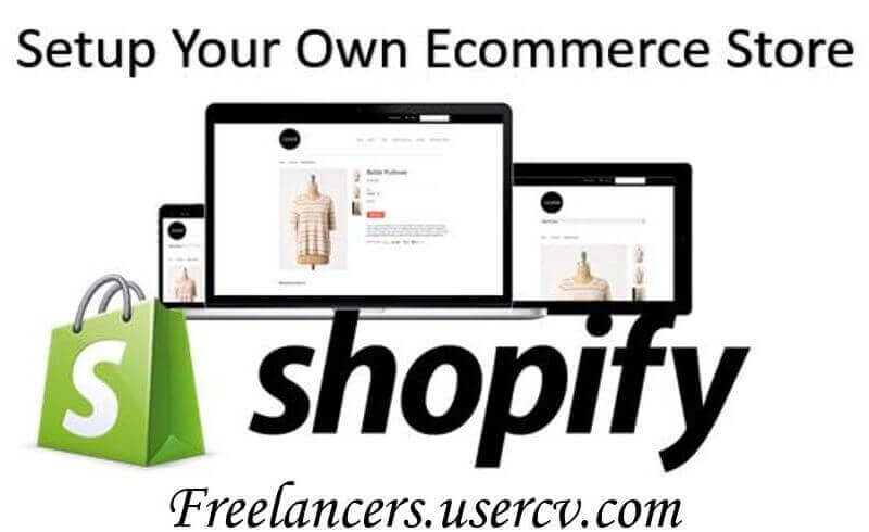 I Will Create A Shopify Store With A Premium Theme including upsell and other marketing strategy