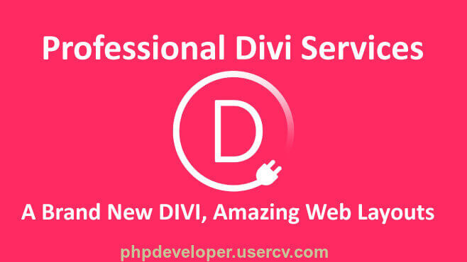I Will Design Divi Wordpress Website, Customize Divi Theme Using Divi Builder