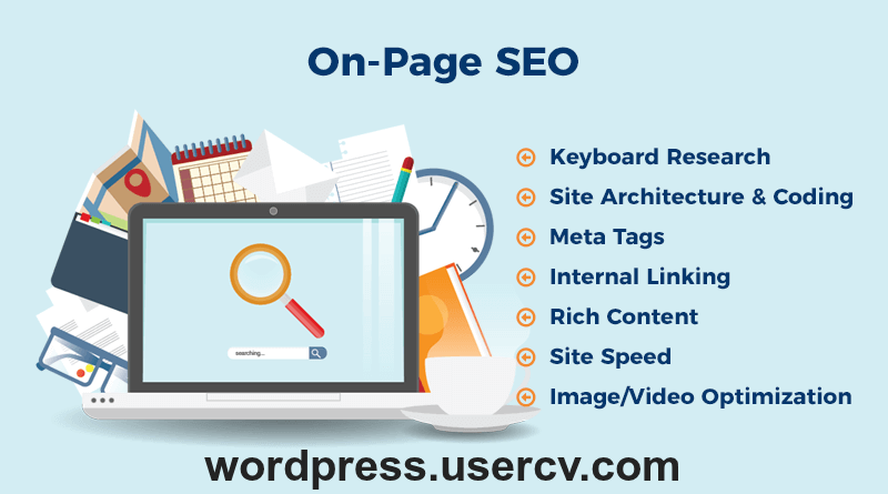 I will perform onsite SEO in your wordpress website.