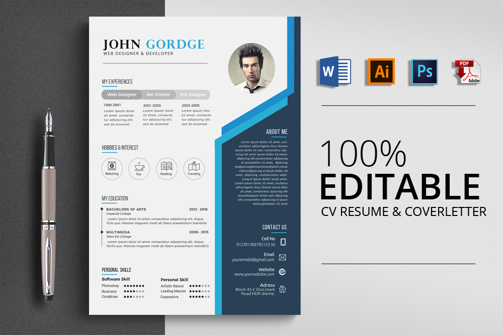 I will provide high quality resume writing, CV, cover letter, executive resume