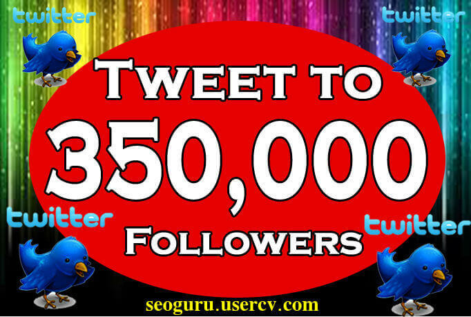 I Will Tweet Your website Link or business link To My 350000 Followers On Twitter