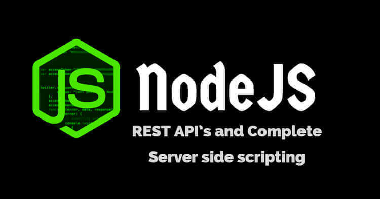 I Will do Restful API development Using Nodejs And MySQL