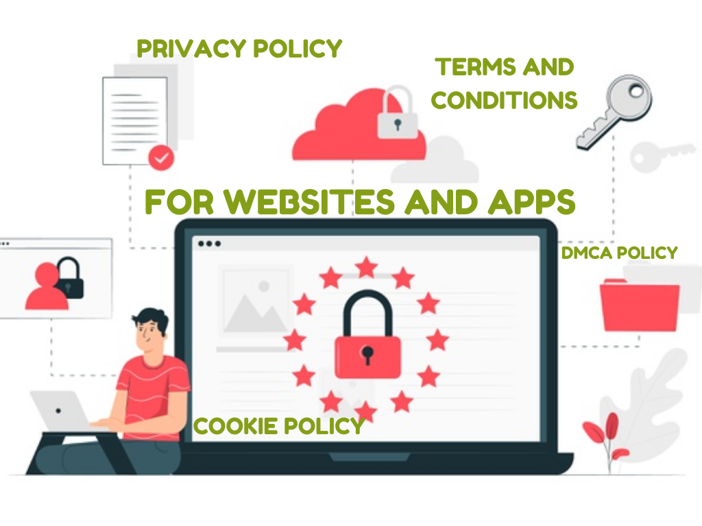 I will write privacy policy, terms and conditions gdpr