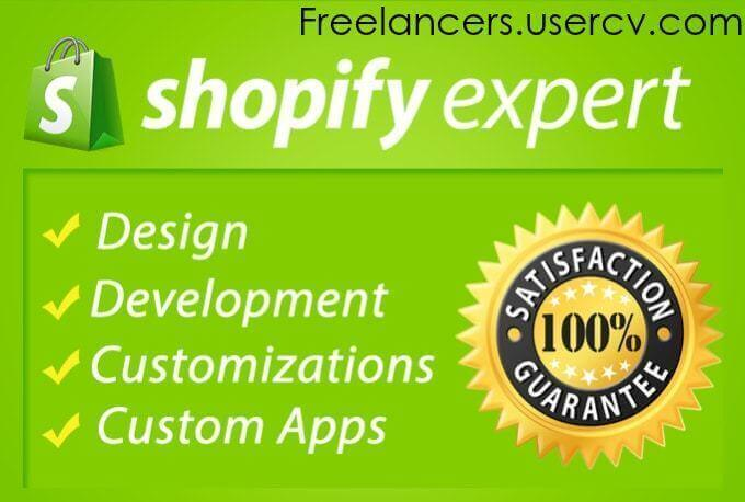 I Will Design A Professional Shopify Store Shopify Website Shopify Dropshipping Store with Premium Theme